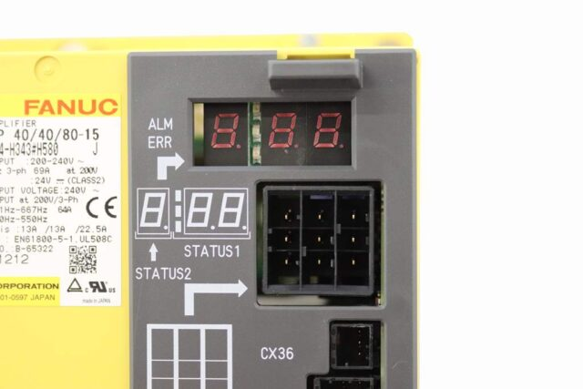 fanuc alarm display